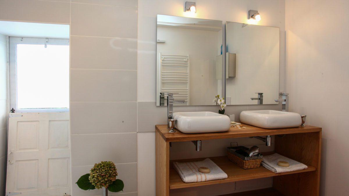 Duplex Indépendant – Salle de bain – Luxe et Design  – Domaine de l'Ô – Gîte – Chambre d'hôte – Périgord