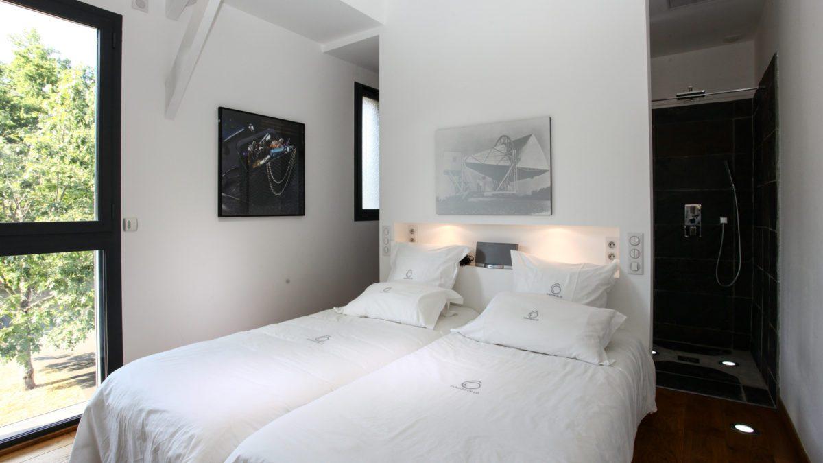 Loft Ôrizon - Chambre 2 - Luxe et Design - Domaine de l'Ô - Gîte - Chambre d'hôte - Périgord