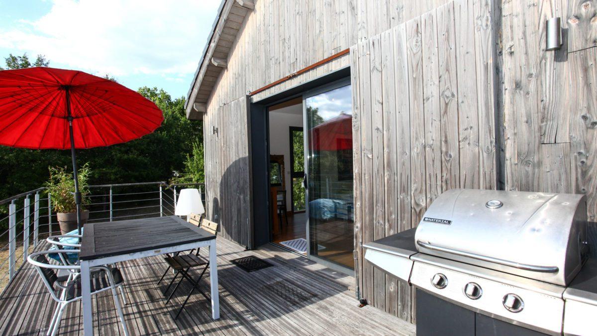 Loft Ôrizon - Terrasse - Luxe et Design - Domaine de l'Ô - Gîte - Chambre d'hôte - Périgord