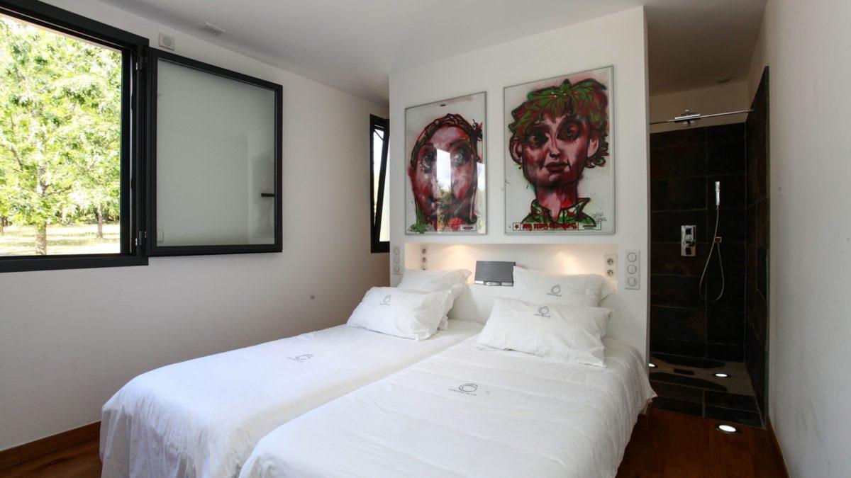 Loft Ôvebas - Chambre - Luxe et Design - Domaine de l'Ô - Gîte - Chambre d'hôte - Périgord
