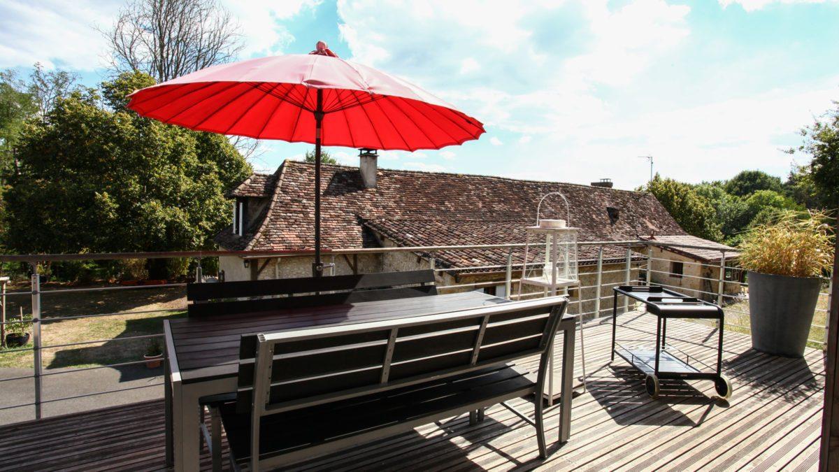 Loft Ôvebas - Terrasse - Luxe et Design - Domaine de l'Ô - Gîte - Chambre d'hôte - Périgord