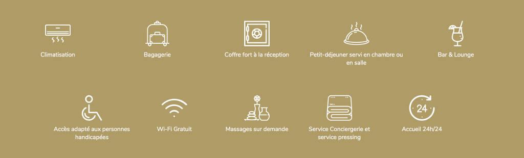 Les services - Domaine de l'Ô - Gîte - Chambre d'hôte - Périgord